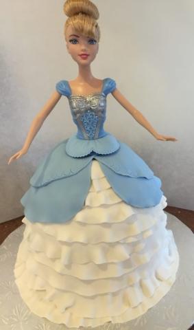 Custom Birthday Cake for Girls
