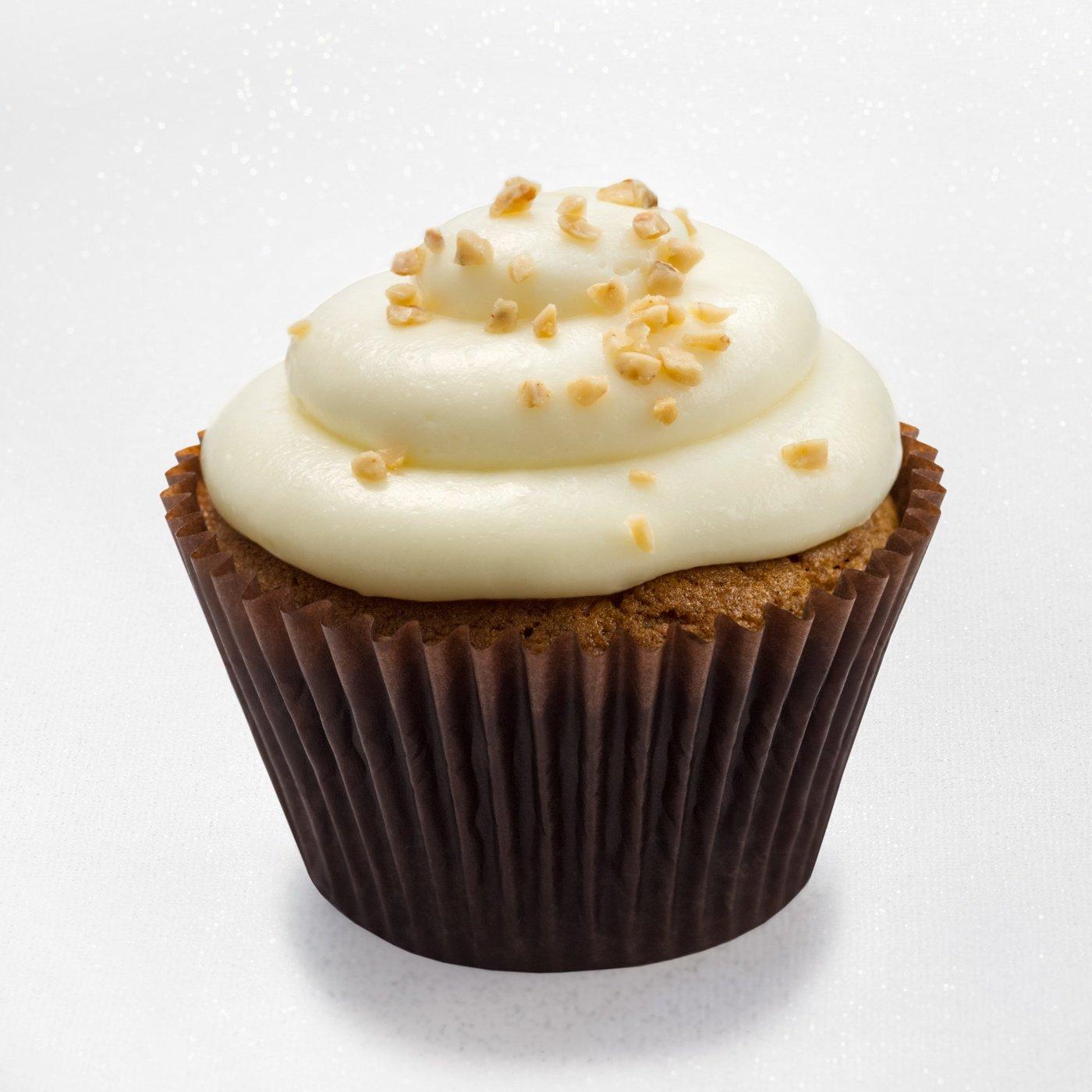 Pumpkin toffee - pumpkin cupcake
